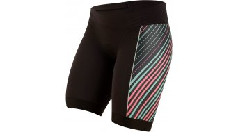 Pearl Izumi Elite Pursuit Triathlon- pant short ladies (TRI- seat pads) black/atomic red whirl