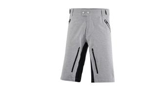 Protective Austin Baggy Hose kurz Herren-Hose MTB-Shorts grey melange
