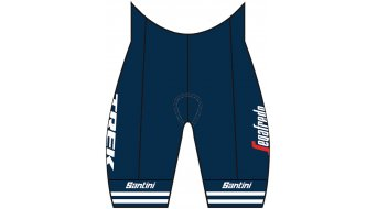 Santini Trek-Segafredo Team Replica Hose kurz Damen Gr. XS dark blue/white