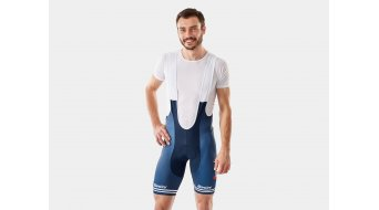 Santini Trek-Segafredo Replica bib short short men dark blue