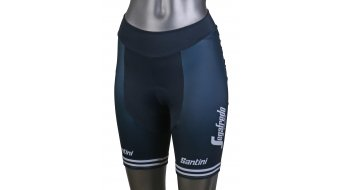 Santini Trek-Segafredo Replica shorts pant short ladies dark blue/white