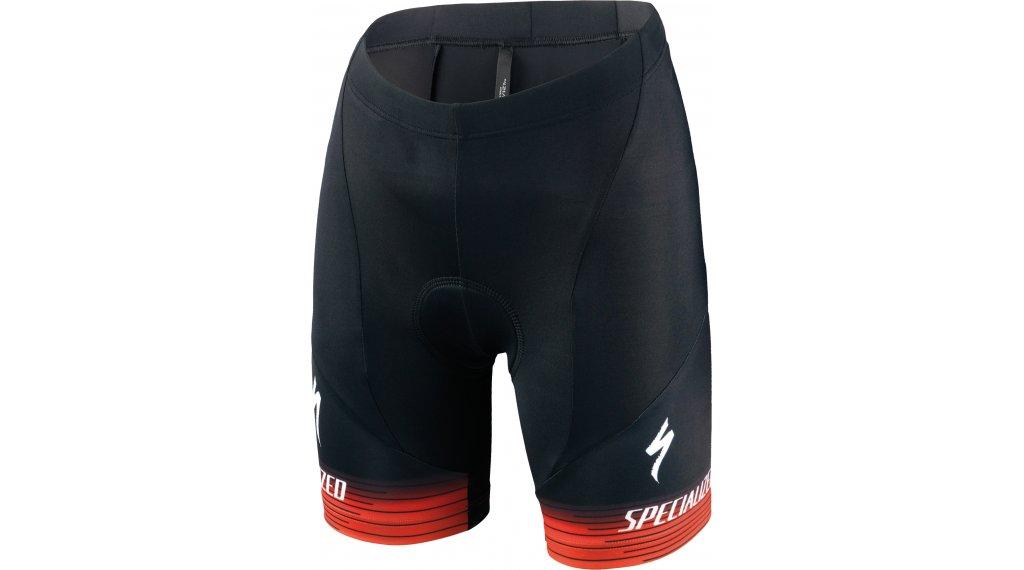 Specialized RBX Comp Logo Team Shorts Hose kurz Kinder (inkl. Sitzpolster) Gr. XL black/rocket red/red