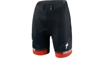 Specialized RBX Comp Logo Team Shorts Hose kurz Kinder (inkl. Sitzpolster) black/rocket red/red