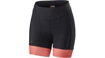 Specialized RBX Comp Hose kurz Damen-Hose Rennrad Shorty Shorts (inkl. Sitzpolster) Gr. M black/coral