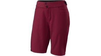 Specialized Andorra Comp Hose kurz Damen-Hose MTB Shorts (ohne Sitzpolster) burgundy