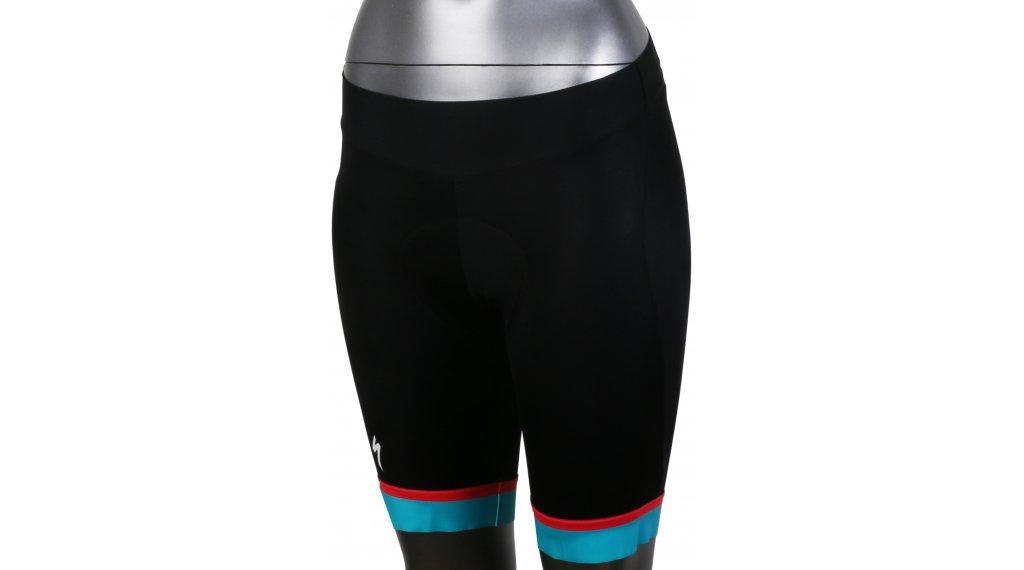 Specialized RBX Comp Hose kurz Damen-Hose Rennrad Shorts (RBX Comp-Sitzpolster) Gr. M turquoise blue/ acid red - SAMPLE