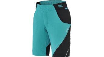 Shimano Explorer Pro pantalón corto(-a) Señoras-pantalón Shorts (incl. acolchado) viridian verde