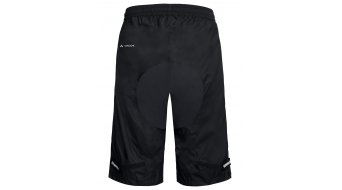 VAUDE Drop Shorts Regenhose kurz Herren (ohne Innenhose) Gr. S black