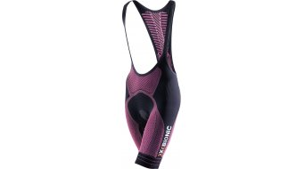 X-Bionic The Trick Bibshorts 裤装 短 女士 (Endurance 4000FX-臀部垫层) 型号 XL black/粉色