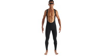 Assos LL.milleTights S7 Bib Tights 裤装 长 男士 (mille S7-臀部垫层) 型号 blockBlack