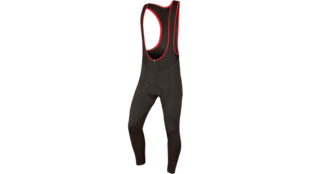Endura Windchill vélo de course-Bib Tights long hommes (600-Series-rembourrage) taille S noir