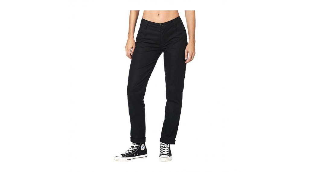 Fox Racing Womens Black Dodds Chino Pants
