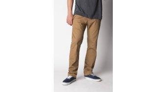 Fox Selecter pantalón largo(-a) Caballeros-pantalón Chino Pants tamaño 34 adobe