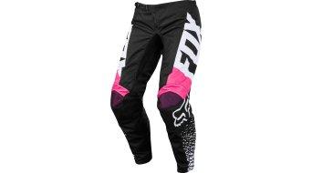 Fox Girls 180 MX Hose lang Kinder black/pink