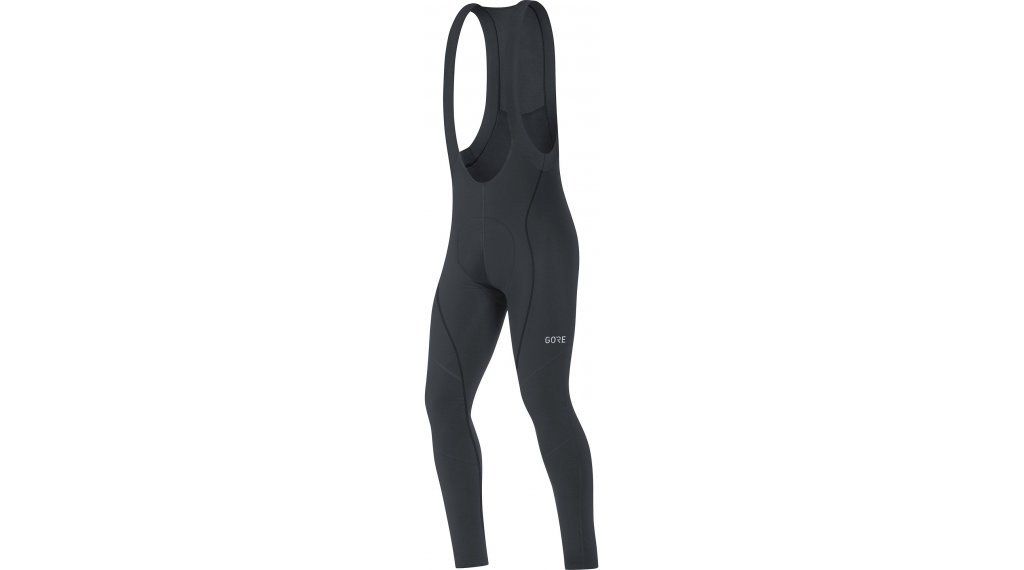 GORE C3 Thermo Bib Tights 裤装 长 男士 (Active Various-臀部垫层) 型号 S black