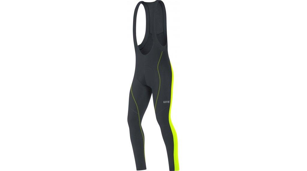 GORE C3 Thermo Bib Tights 裤装 长 男士 (Active Various-臀部垫层) 型号 M black/neon yellow