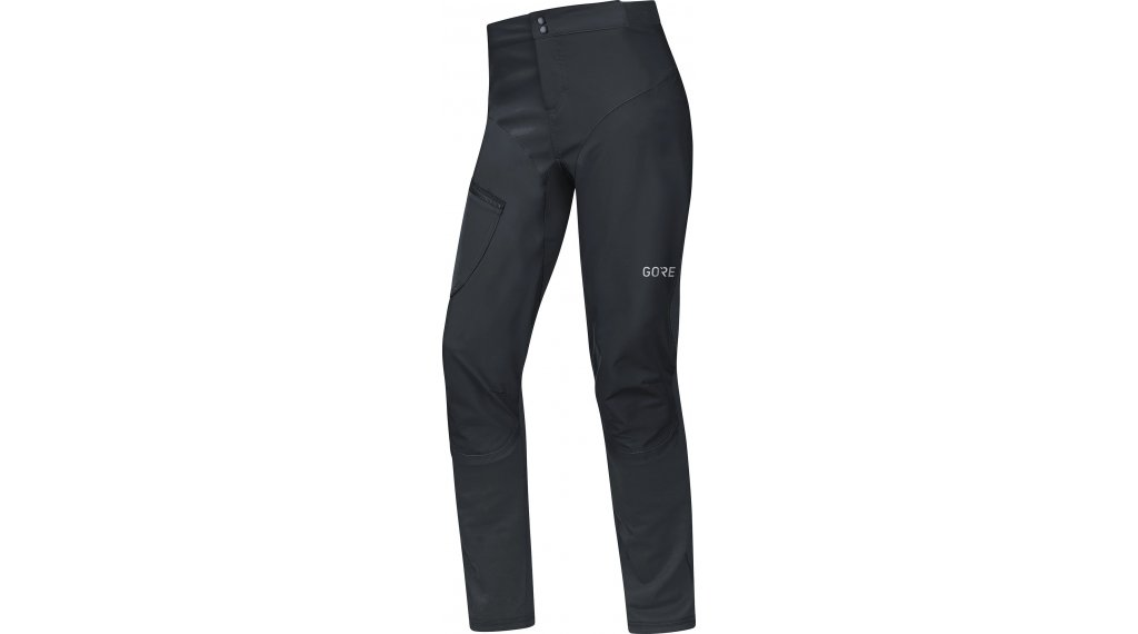 GORE C5 Windstopper Trail 2in1 裤装 长 男士 (无 臀部垫层) 型号 S black