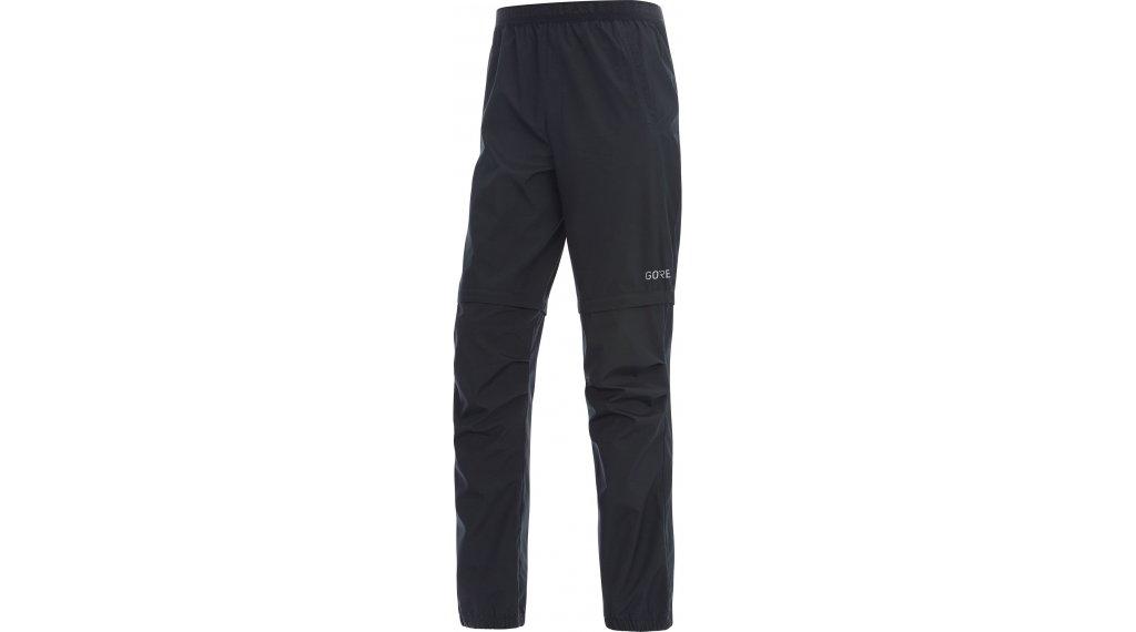 GORE R3 Windstopper Zip-Off Pants Hose lang Herren Gr. S black