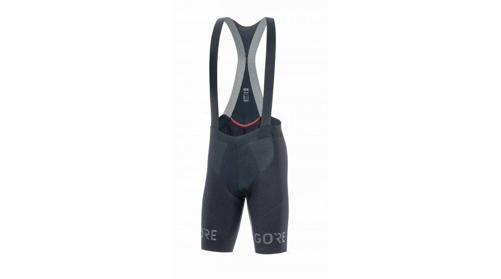 GORE Wear C7 Long Distance 背带紧身裤 短 男士 (Expert Long Distance-臀部垫层) 型号 M black