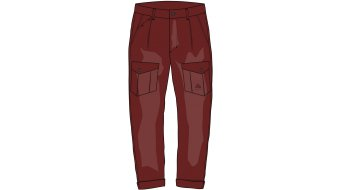 Maloja RomM. casual pant long men size M maroon- Sample