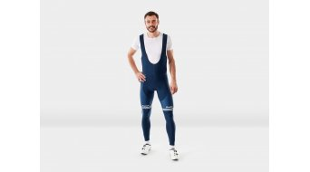 Santini Trek-Segafredo Team bib short long men dark blue