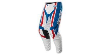 Troy Lee Designs GP Factory pantalón largo(-a) MX-pantalón Pant tamaño 36 azul Mod. 2015- MODELO DE DEMONSTRACIÓN (manchado- Waschbar)