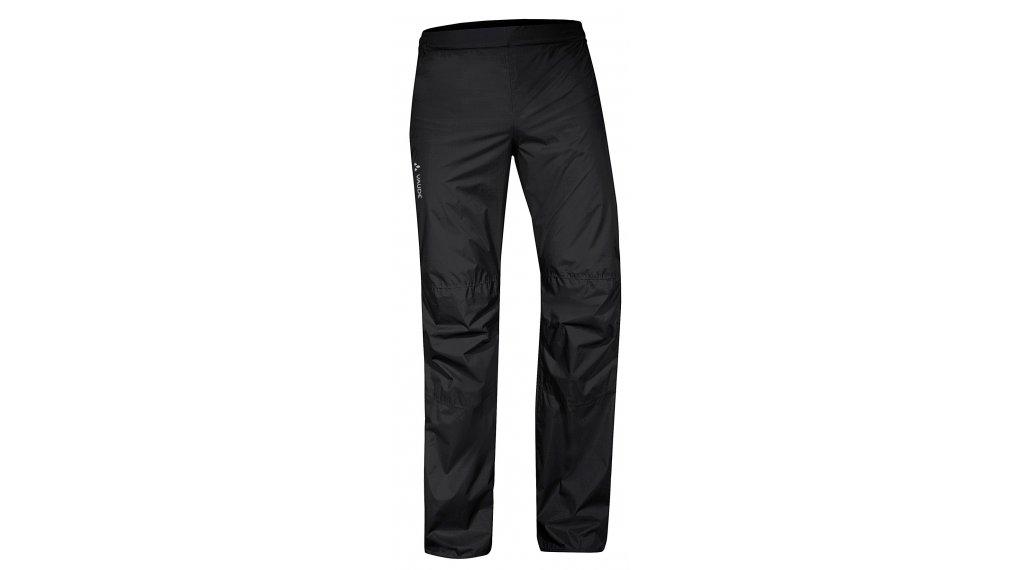 VAUDE Drop II 防雨裤 长 男士 型号 S/Short uni black