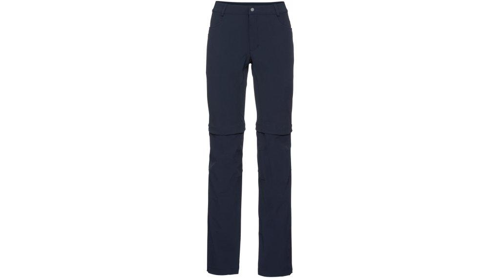 VAUDE Yaki II Zip-Off Pants 裤装 长 女士 (含有臀部垫层) 型号 36 eclipse