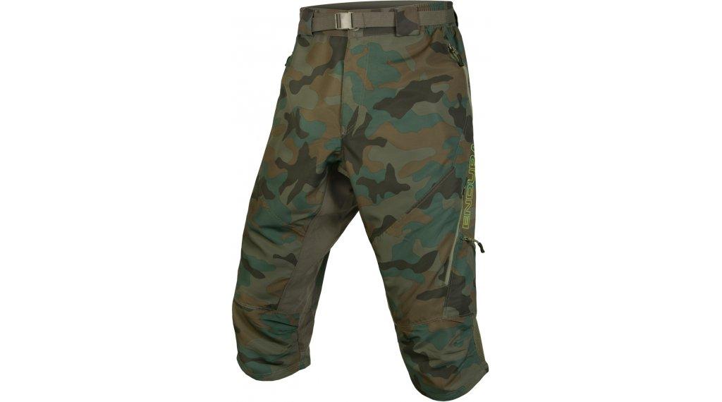 Endura Hummvee II MTB-kalhoty 3/4-dlouhý pánské (200-Series-cyklistická vložka) velikost S camouflage
