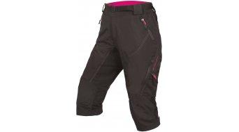 Endura Hummvee II MTB pantalón 3/4-largo(-a) Señoras (200-Series-acolchado) negro(-a)
