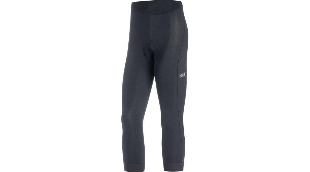 GORE C3 Knicker 裤装 3/4-长 女士 (Active Comfort-臀部垫层) 型号 XS black