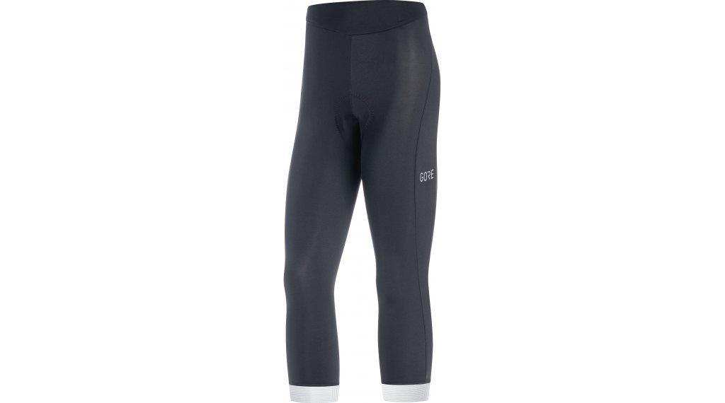GORE C3 Knicker 裤装 3/4-长 女士 (Active Comfort-臀部垫层) 型号 XS black/white