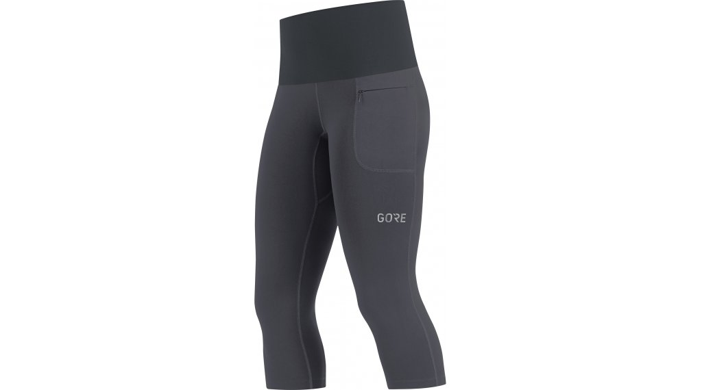 GORE R5 Tights Hose 3/4-lang Damen Gr. L (40) terra grey/black