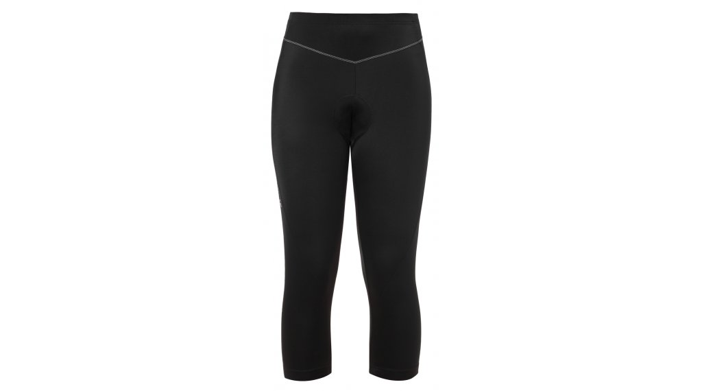 VAUDE Active 裤装 3/4-长 女士 (Active Cycling-臀部垫层) 型号 34 uni black