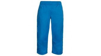 VAUDE Drop rain pant 3/4-long men (without liner) size S wheeliate blue
