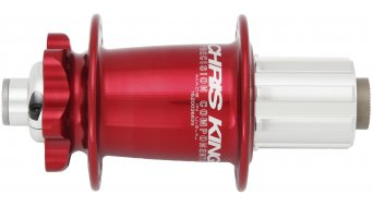 Chris King ISO disc- rear wheel hub 32 hole 10x135mm Shimano/SRAM freewheel red
