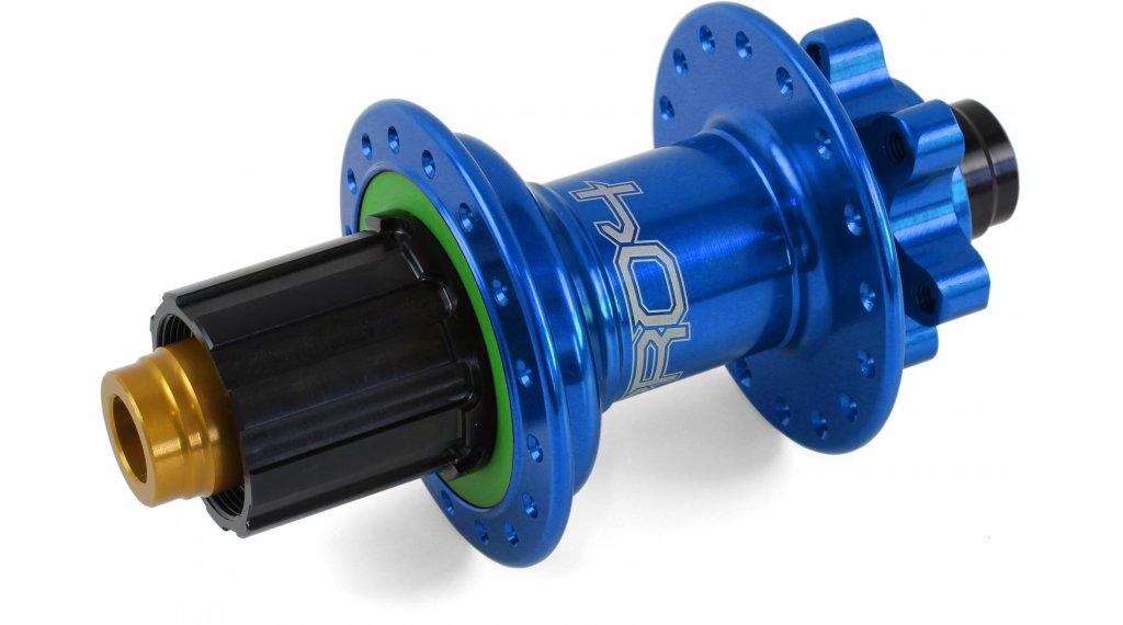 Hope Pro 4 Disc-buje rueda trasera 24 agujeros 12x135mm Hope-piñon libre azul