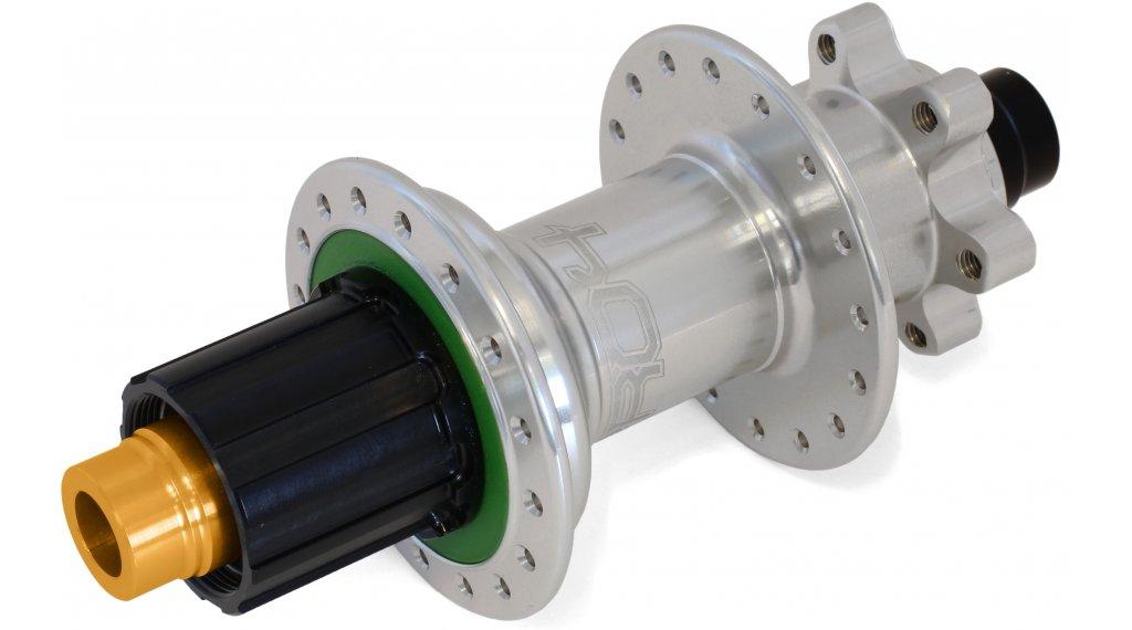 Hope Pro 4 Disc-buje rueda trasera 32 agujeros 12x157mm Hope-piñon libre plata