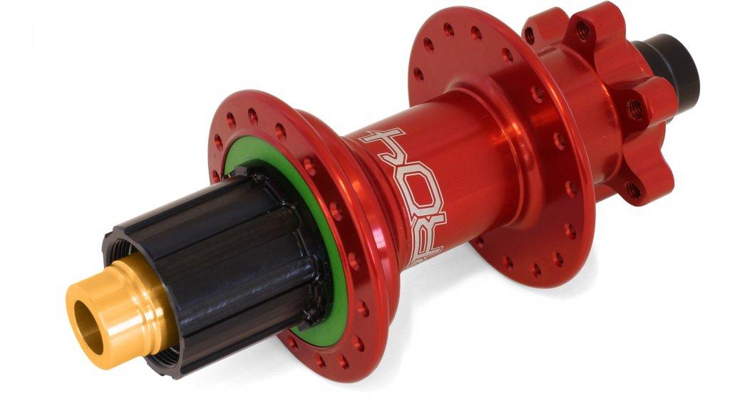 Hope Pro 4 Disc-buje rueda trasera 32 agujeros 12x157mm Hope-piñon libre rojo