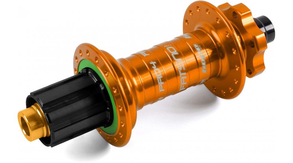 Hope Pro 4 Fatsno Fatbike Disc-buje rueda trasera 32 agujeros 12x177mm Hope-piñon libre naranja