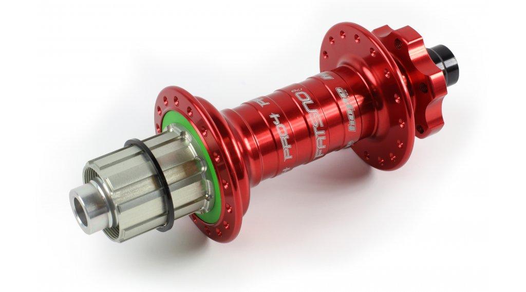 Hope Pro 4 Fatsno Fatbike Disc-buje rueda trasera 32 agujeros 12x177mm Shimano/Sram-piñon libre rojo