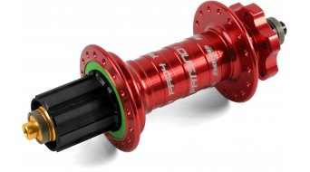 Hope Pro 4 Fatsno Fatbike Disc-Hinterradnabe 32-Loch QRx170mm Hope-Freilauf red