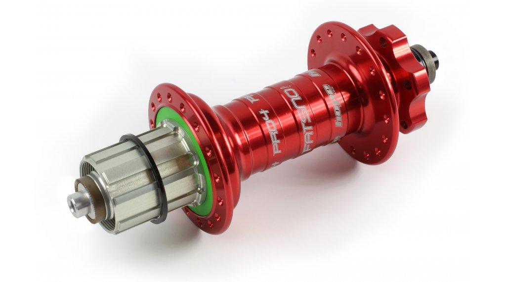 Hope Pro 4 Fatsno Fatbike Disc-buje rueda trasera 32 agujeros QRx170mm Shimano/Sram-piñon libre rojo