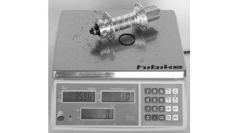 Hope Pro 4 Fatsno Fatbike Disc-buje rueda trasera 32 agujeros QRx170mm Shimano/Sram-piñon libre negro