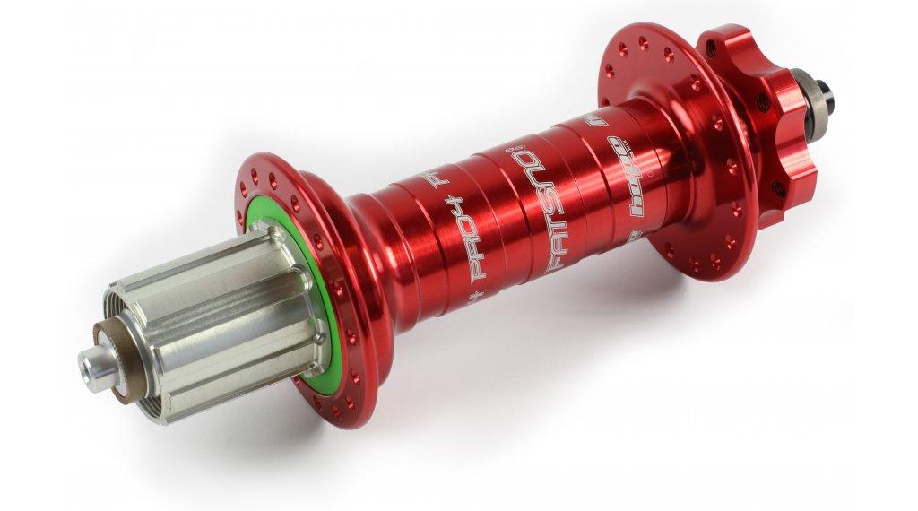 Hope Pro 4 Fatsno Fatbike Disc-buje rueda trasera 32 agujeros QRx190mm Shimano/Sram-piñon libre rojo