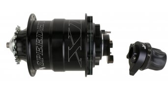 Rohloff Speedhub XL 500/14 Fatbike Discnabe CC DB OEM 32H 170mm schwarz