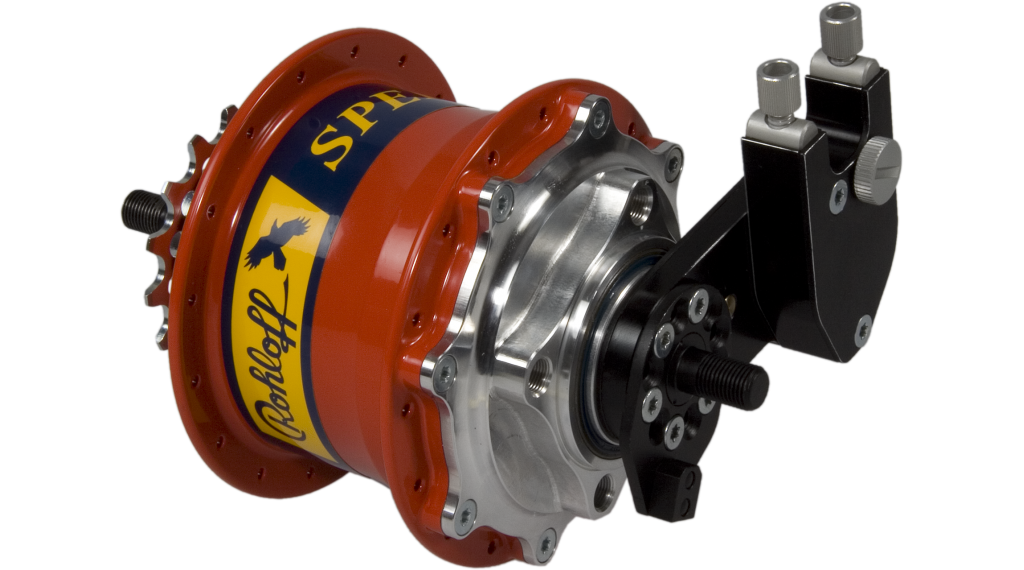 Rohloff Speedhub 500/14 Discnabe TS DB OEM 32H rojo(-a)