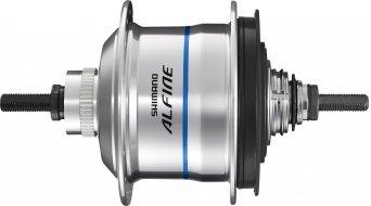 Shimano Alfine Di2 SG-S705 Disc buje de engranaje 11 marchas 32 agujeros Centerlock color plata