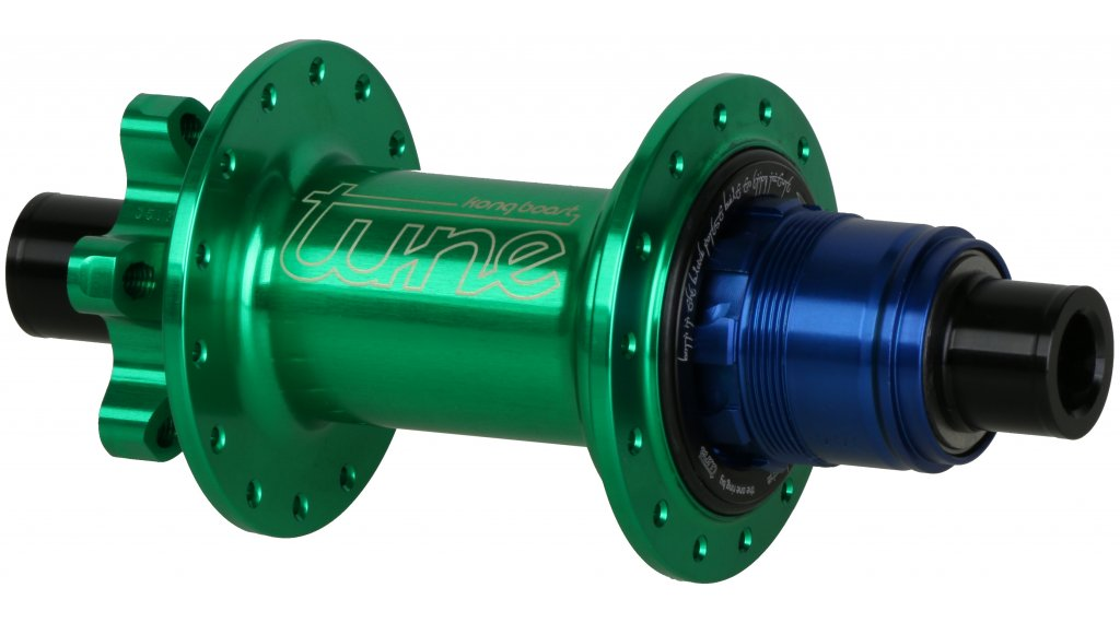Tune Kong Boost MTB(山地) 后轮碟刹花鼓 28 孔 12x148mm SRAM X-Dome-自由轮 草绿色