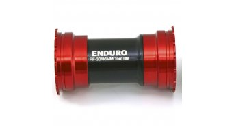 Enduro Bearings BKS 0140 Kugellager BKS 0140 BB386EVO Innenlager Shimano Hollowtech II 24mm red